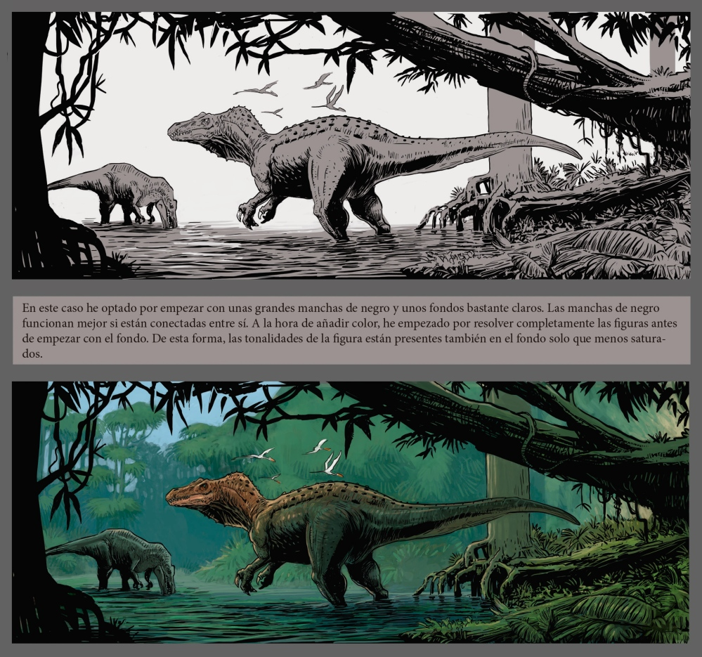 fishing-batyonx-dinosaur-saura-fecit